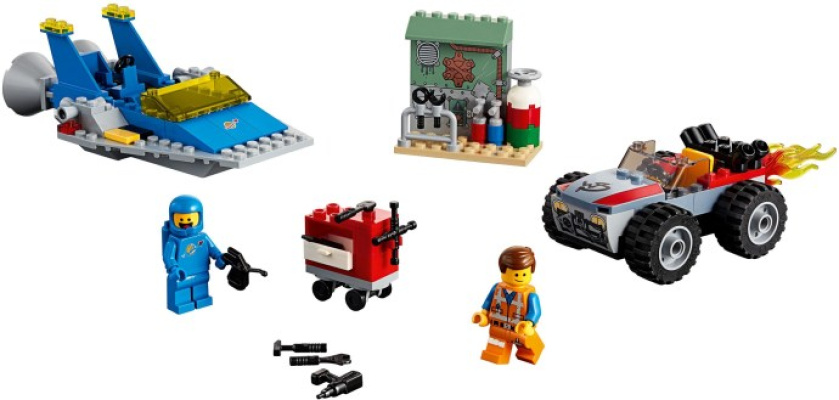 70821-1 Emmet and Benny's 'Build and Fix' Workshop!