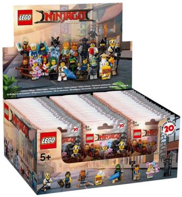 71019 22 Lego Minifigures The Lego Ninjago Movie Series Sealed Box Reviews Brick Insights