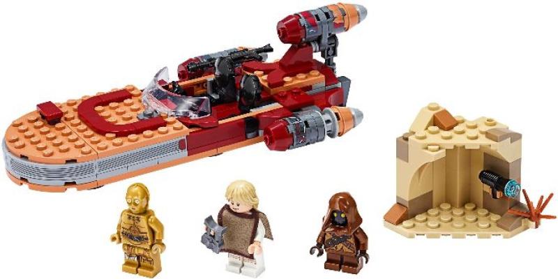 75271 1 Luke Skywalker S Landspeeder Reviews Brick Insights
