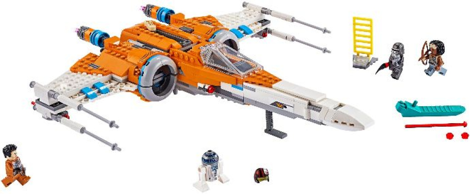 75273 1 Poe Dameron S X Wing Fighter Reviews Brick Insights
