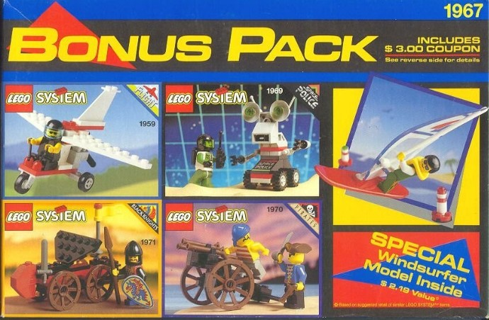 1967-1 Five Set Bonus Pack