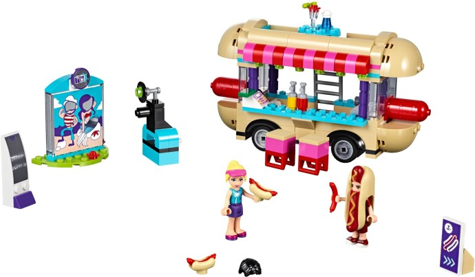 41129-1 Amusement Park Hot Dog Van
