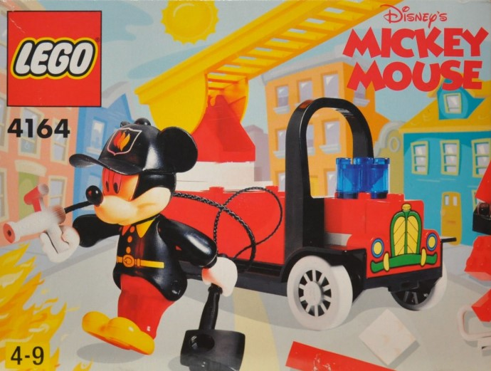 4164-1 Mickey's Fire Engine