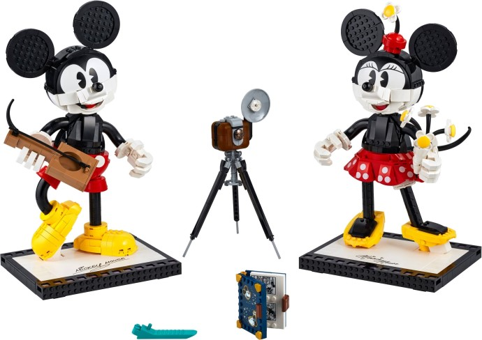 43179-1 Mickey Mouse and Minnie Mouse