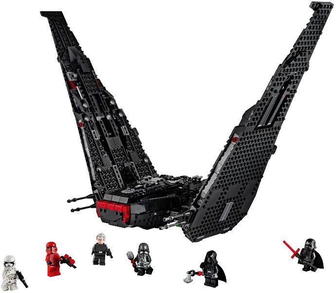 75256 1 Kylo Ren S Shuttle Reviews Brick Insights