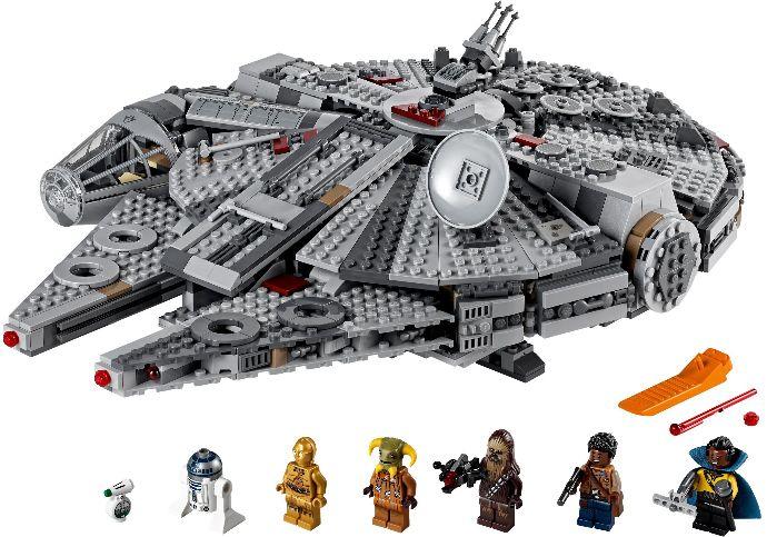 75257 1 Millennium Falcon Reviews Brick Insights