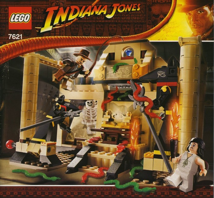 7621-1 Indiana Jones and the Lost Tomb