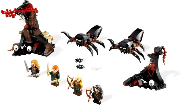 79001-1 Escape from Mirkwood Spiders