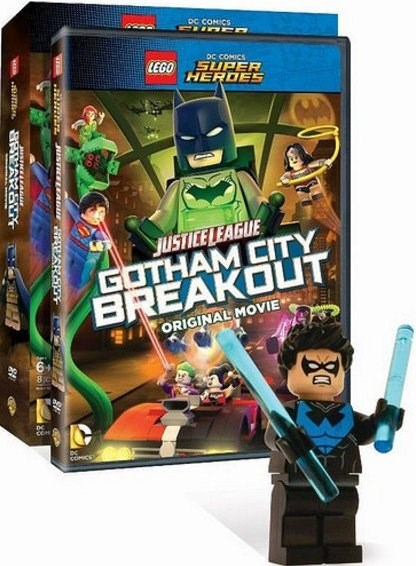 DCSHDVD4-1 Justice League: Gotham City Breakout DVD/Blu-ray