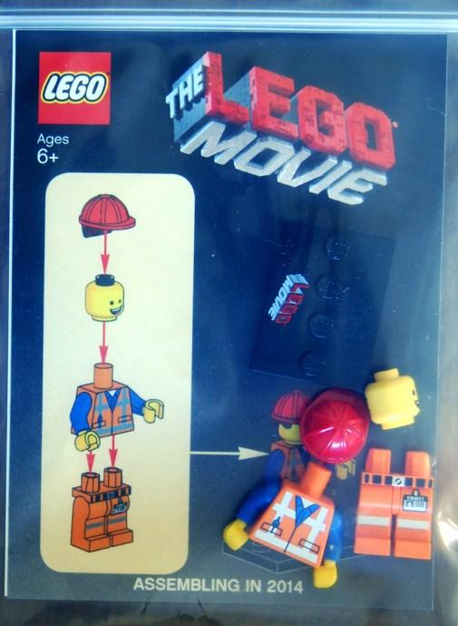 Emmet 1 The Lego Movie Promotional Figure Emmet Reviews Brick Insights