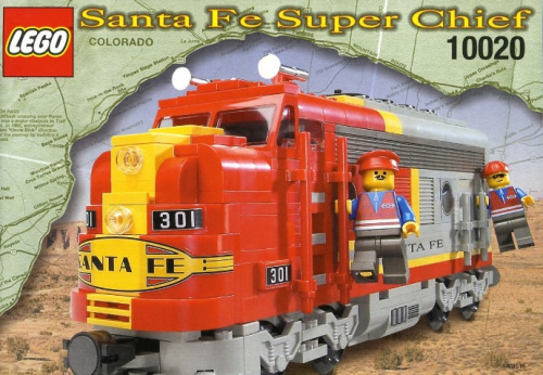 10020-1 Santa Fe Super Chief