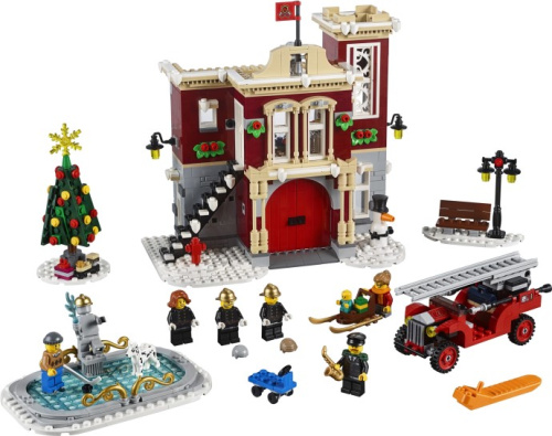 10263-1 Winter Village Fire Station