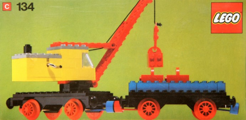 134-1 Mobile Crane and Wagon