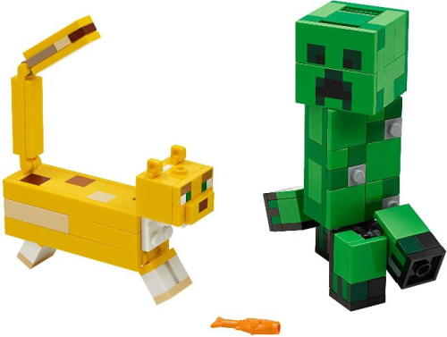 21156-1 BigFig Creeper and Ocelot