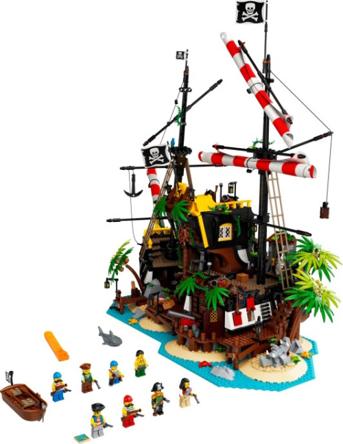 21322-1 Pirates of Barracuda Bay