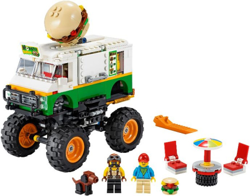 31104-1 Monster Burger Truck