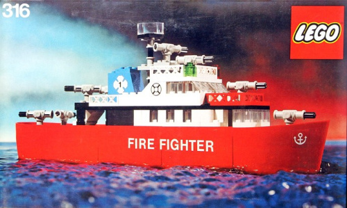 316-1 Fire Fighting Launch