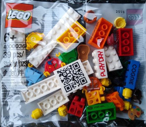 4000036-1 LEGO Play Day polybag