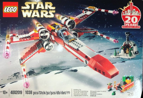 4002019-1 Christmas X-wing