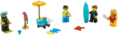 40344-1 Summer Celebration Minifigure Pack