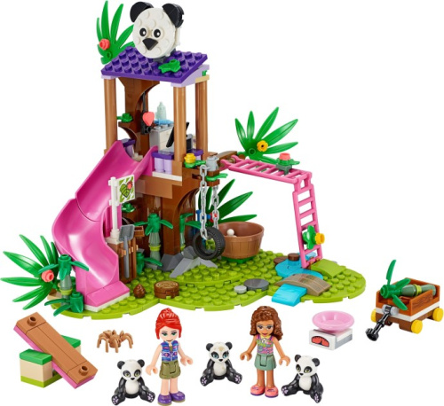 41422-1 Panda Jungle Tree House