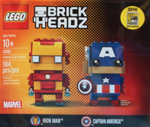 41492-1 Iron Man & Captain America