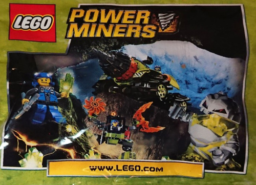 4559387-1 Power Miners Promotional Polybag