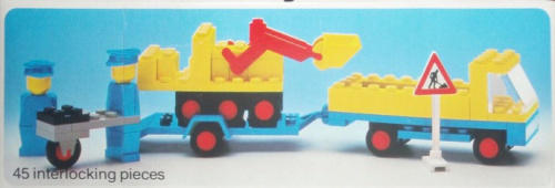 492-1 Truck with Payloader