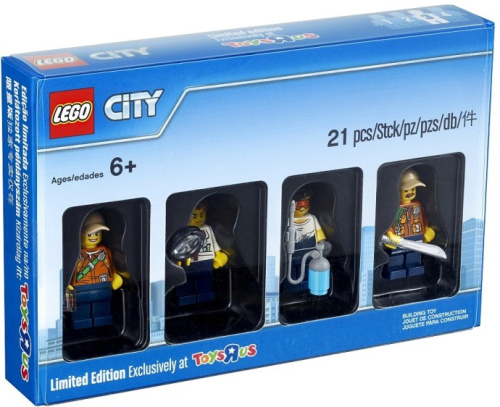5004940-1 City Jungle Minifigure Collection