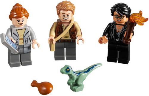 5005255-1 Jurassic World Minifigure Collection
