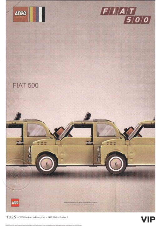 5006304-1 Fiat Art Print 2 - Three Cars