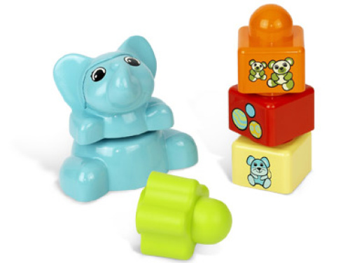 5453-1 Baby Elephant Stacker