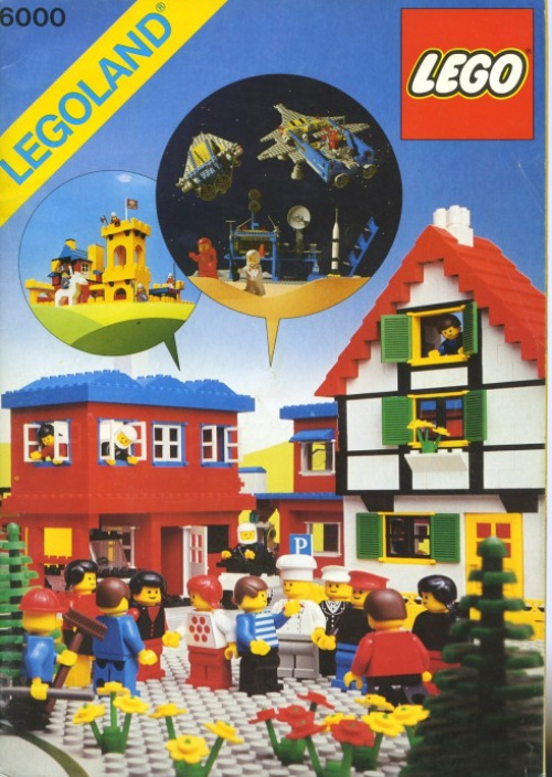 6000-1 LEGOLAND Idea Book