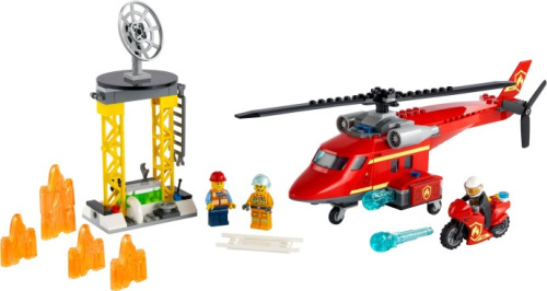 60281-1 Fire Rescue Helicopter