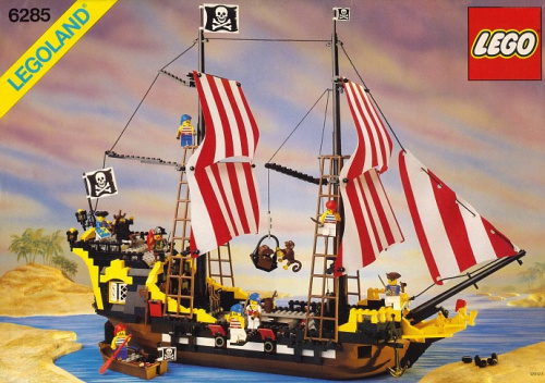 6285-1 Black Seas Barracuda