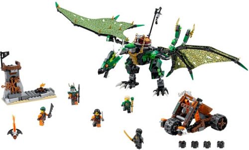 70593-1 The Green NRG Dragon