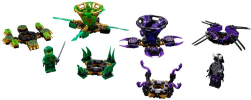 70664-1 Spinjitzu Lloyd vs. Garmadon