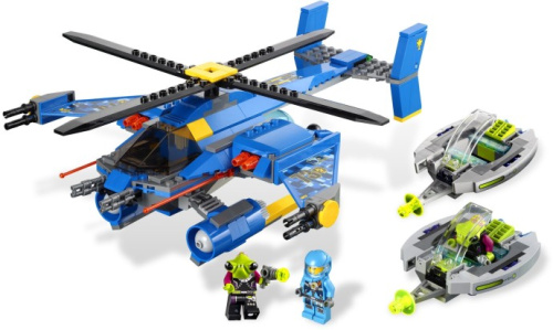 7067-1 Jet-Copter Encounter