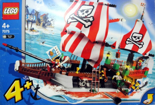 7075-1 Captain Redbeard's Pirate Ship