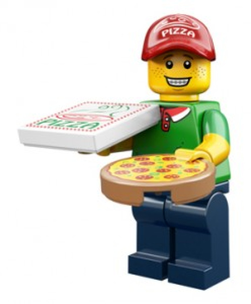 71007-11 Pizza Delivery Man