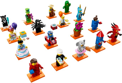 71021-18 LEGO Minifigures - Series 18 - Complete