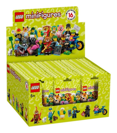 71025-18 LEGO Minifigures - Series 19 - Sealed Box