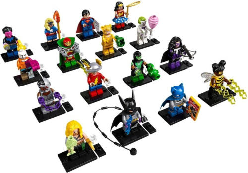 71026-17 LEGO Minifigures - DC Super Heroes - Complete