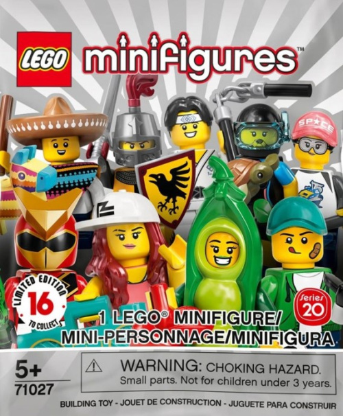71027-0 LEGO Minifigures - Series 20 Random Bag