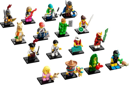 71027-17 LEGO Minifigures - Series 20 - Complete