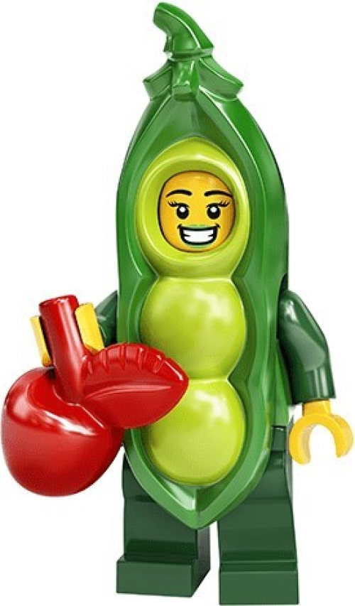 71027-3 Pea Pod Costume Girl