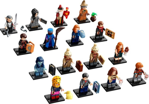 71028-17 LEGO Minifigures - Harry Potter Series 2 - Complete