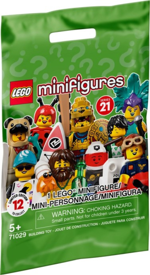 71029-0 LEGO Minifigures - Series 21 Random bag
