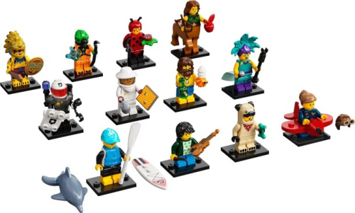 71029-13 LEGO Minifigures - Series 21 - Complete