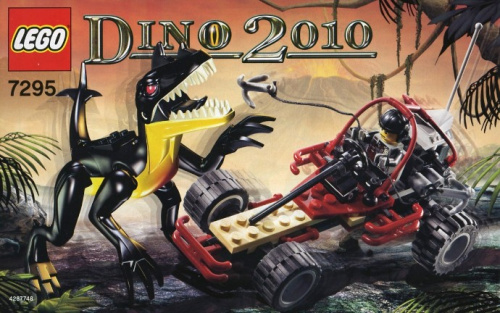 7295-1 Dino Buggy Chaser